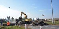 Przebudowa przejazdu kolejowego w Zawidzu